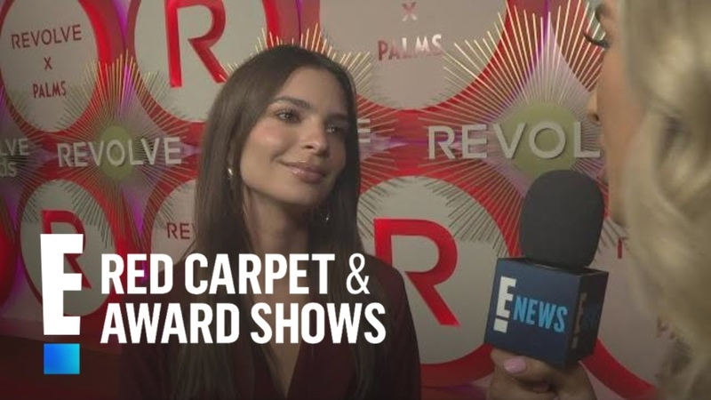 Emily Ratajkowski Shares Holiday Plans With Hubby In-Laws | E! Red Carpet Award Shows