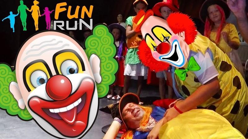 FUNNY VIDEOS FOR KIDS | COMEDY | FUNNY CLOWN FOR CHILDREN | BALLOON CHALLENGE DADS | KIRMAN BELAZUR