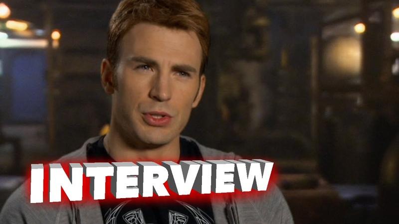Marvel's Avengers: Age of Ultron: Chris Evans Steve Rogers / Captain America Interview