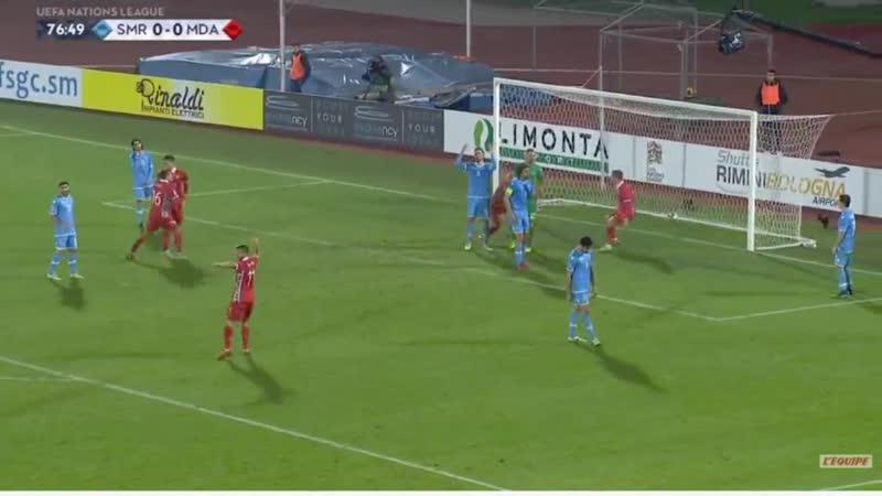 15.11.2018.Сан-Марино 0·1 Молдова · Лига Наций.Видео обзор голов матча