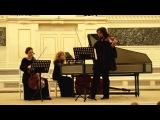 Франсуа Франкер соната для скрипки и баса op. 2 №4
