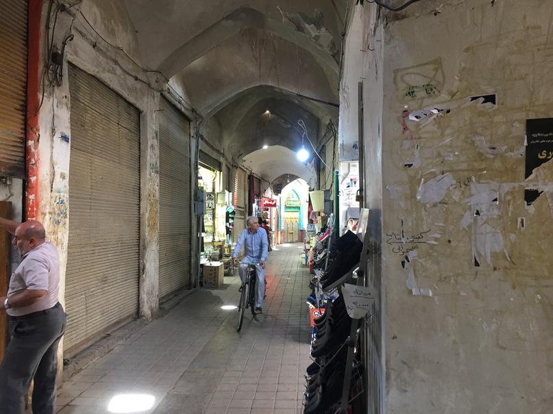 Базар в Кашане. Путешествие в Иран