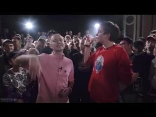 Oxxxymiron vs гнойный - под бит Баттл