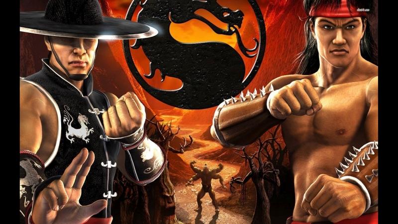Mortal Kombat Shaolin Monks на сони 2 от стримера Демон