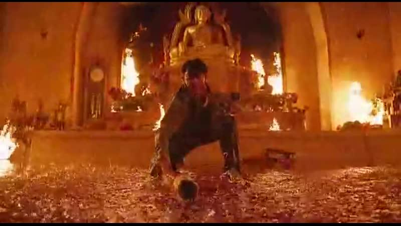 Tom yum goong / Честь дракона: Сцена боя в храме