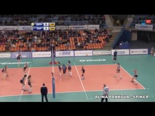 Alina Pankova - Volleyball Spiker