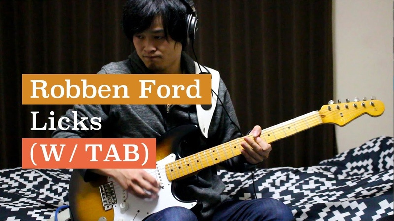 Robben Ford 5 Licks Lesson (w/TAB) - guitarland