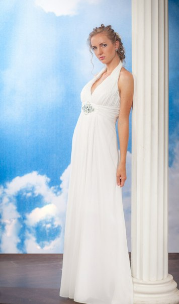Купить Свадебное Греческое Платье В Москве Недорого