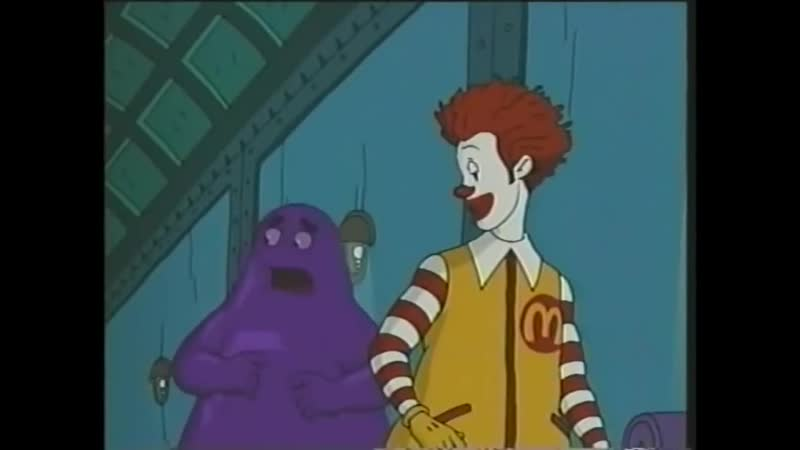 The Wacky Adventures of Ronald McDonald - Scared Silly