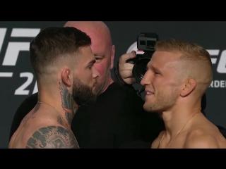 UFC 217- Weigh-in Faceoffs