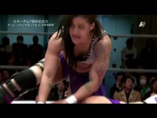 Miranda, Nicole Savoy & Xia Brookside vs. Team Jungle (Jungle Kyona, Kaori Yoneyama & Natsuko Tora)