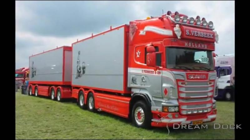 Verbeek Scania R730 V8 @ Lopik 2011 Truck Festival