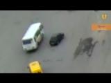 В Уфе молодой водитель сбил женщину ул. Орджоникидзе
