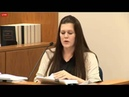 Martin MacNeill Trial. Day 8. Part 4. Alexis Somers Testifies. Michelle MacNeil's Daughter