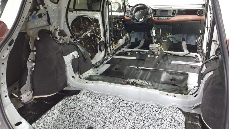 Шумоизоляция Toyota RAV4 по классу Стандарт