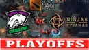 VP vs NiP Playoffs The Kuala Lumpur Major (ВЕЗУНЧИК Rodjer ЛОВИТ ВСЕ СТРЕЛЫ)