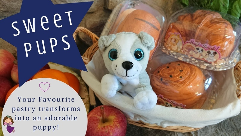 Sweet Pups - A Brand New Soft Toy that Transforms