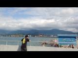 Batumi sea beach)