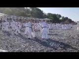 Утренняя тренировка на Летней Школе ЗРОКК 2018 г. (005)