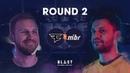 BLAST Pro Series São Paulo 2019 Round 2 MIBR vs. FaZe