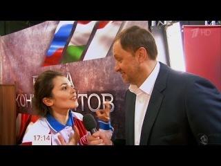Сати Казанова принимает участие в Большие гонки на первом HD