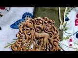 Гребень «Олениха и оленёнок»