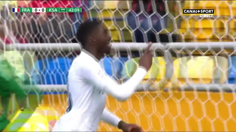 Le résumé de France - Arabie Saoudite (Coupe du Monde U-20)