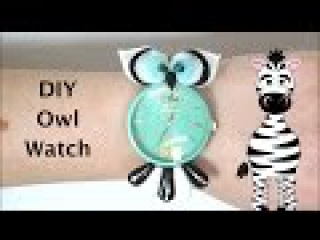 3D Owl Watch Acrylic Nail Art Tutorial | EnjoyYours.com Review