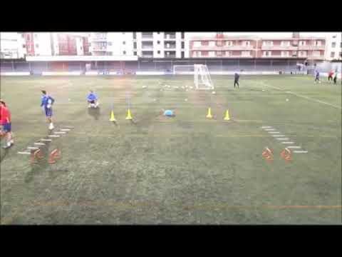 Good football drills Rondo Circuito