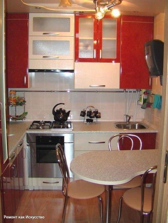 мебель в маленькой кухне про Машу