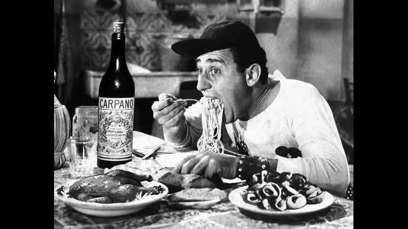Х/Ф Американец в Риме / Un americano a Roma (Италия, 1954) Комедийный фильм с Альберто Сорди в главной роли.