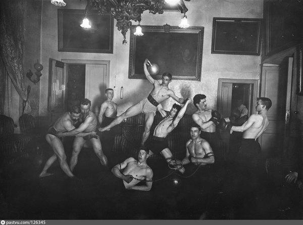 Петербургское атлетическое общество. Российская империя. 1905 год.