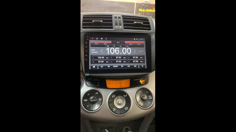 Toyota Rav4 - установка Android