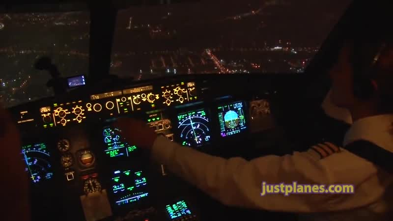 Christines Stunning Night Landing!