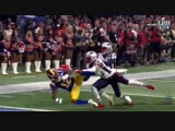 The subtle grab by Stephon Gilmore on the play before his interception should not be gloss