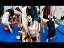 Crazy Painful Contortion Small Dancer Girl Feel Pain So Much