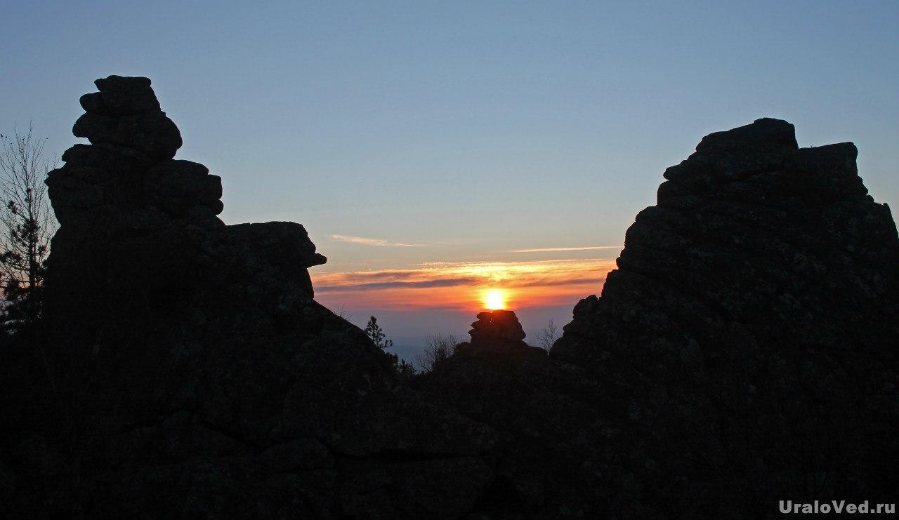 Закат на Качканаре
