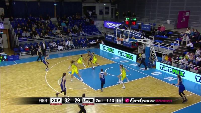 Tina Charles 31 points Highlights vs Uniqa Sopron 12 06 2018