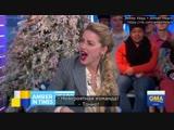 Эмбер Хёрд на шоу Good Morning America (русские субтитры)