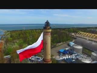 Самый большой флаг Польши