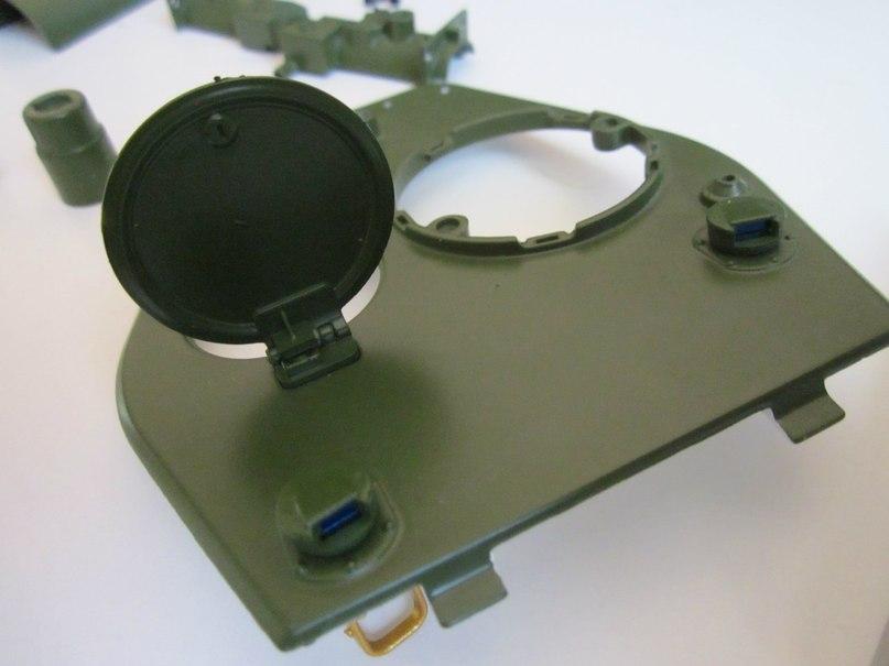 Танк Т-34 - Фотоотчёты по сборке модели