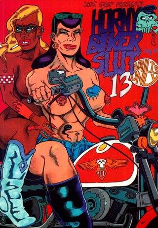 Horny Biker Slut 13