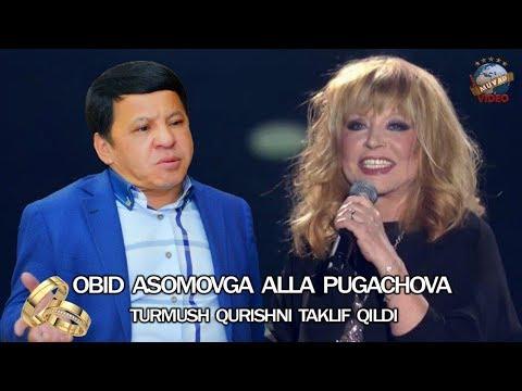 Kulish Shart 2018 - Obid Asomovga Alla Pugachova turmush qurishni taklif qildi