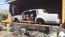 Car crusher crushing cars 52 crushing another 'vette