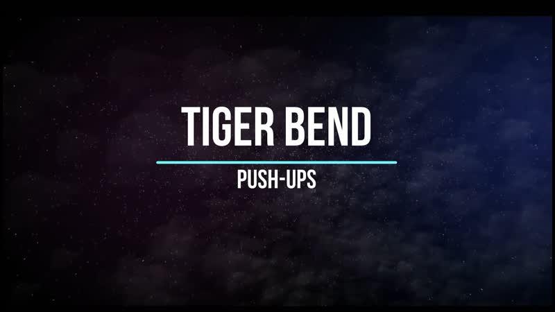 Tiger Band Push-Up