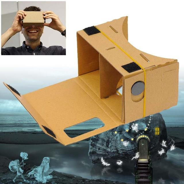 Очки виртуальной реальности бюджетный вариант 133