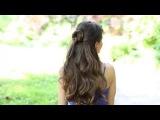 Неземная краса  Прическа на длинные волосы пошаговая инструкция своими руками видео урок