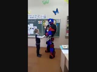 12.10.18 Оптимус Прайм поздравлял замечательного мальчишку Димку с днем рождения, 7 лет!!! 👏👏👏