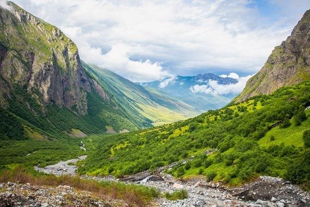 Долина Мидаграбинских водопадов, Северная Осетия