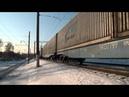 ВЛ80Т 1356 с контейнерным поездом